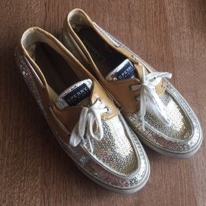 SPERRY Top-spider Beaded Sequin Size 9M